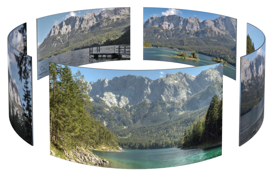 Eibsee in 3D