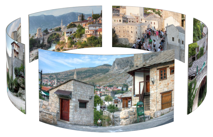 Mostar in 3D