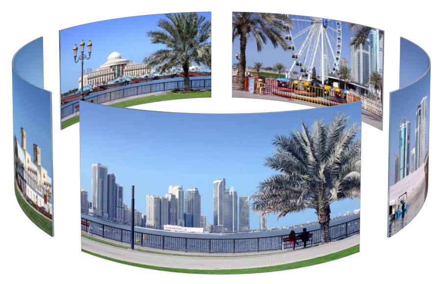 Sharjah in 3D