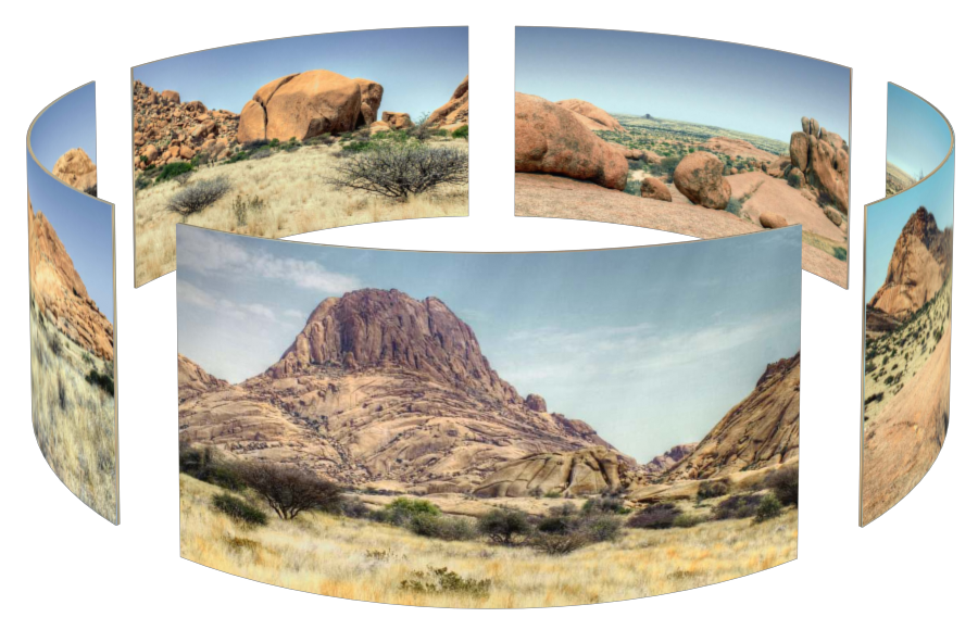 Spitzkoppe in 3D