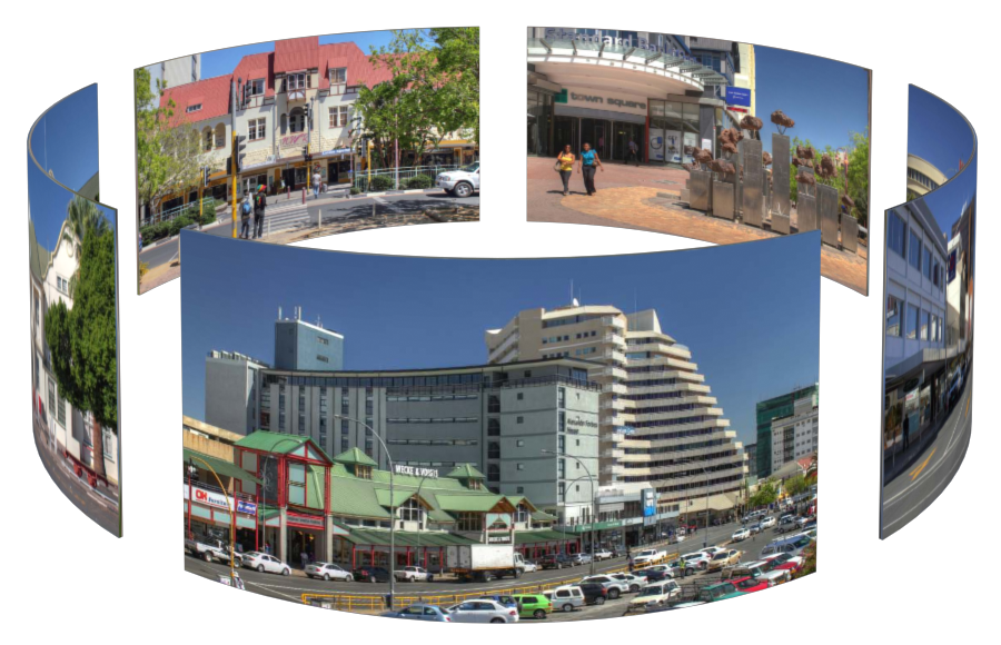 Windhoek in 3D