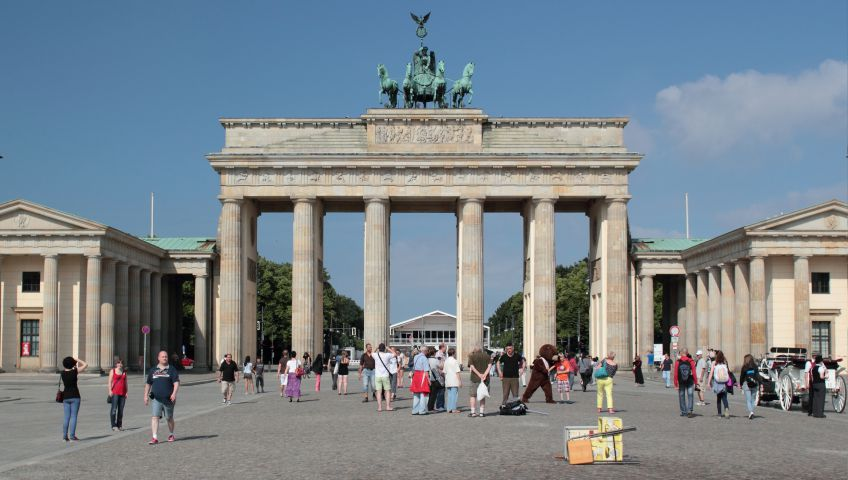 Foto Brandenburger Tor Berlin