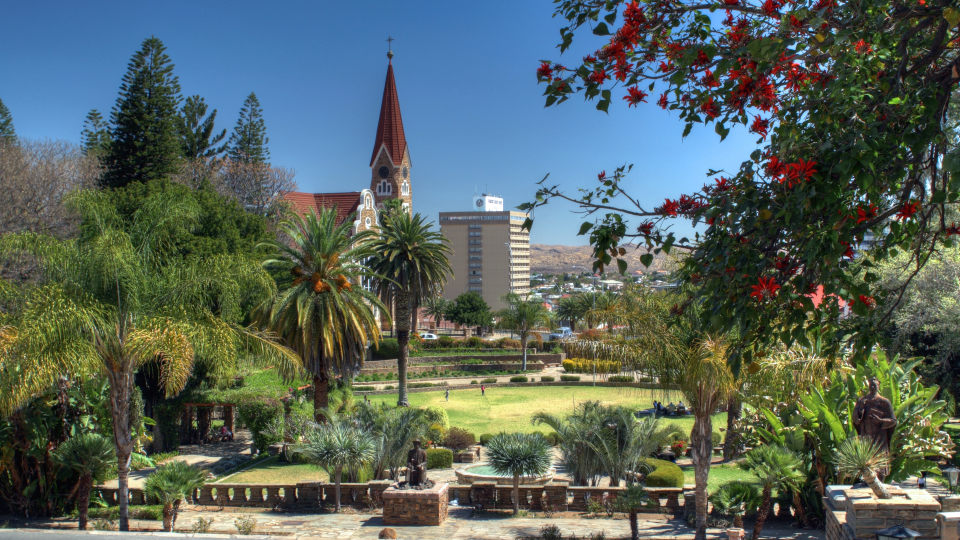 Love Street Panorama Windhoek