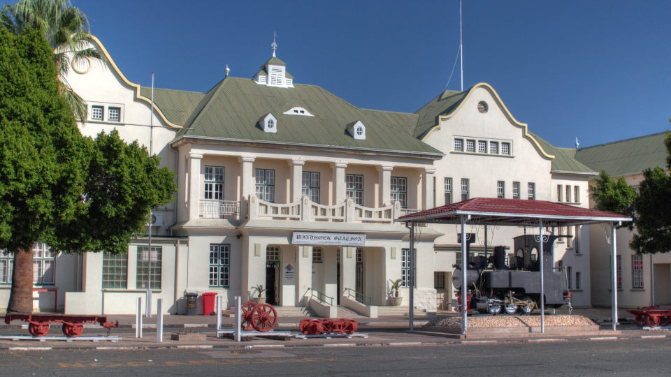 Trans Namib Train Station Windhoek