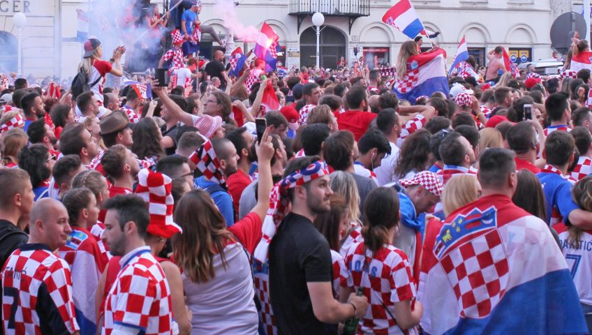 Foto World Cup 2018 in Zagreb