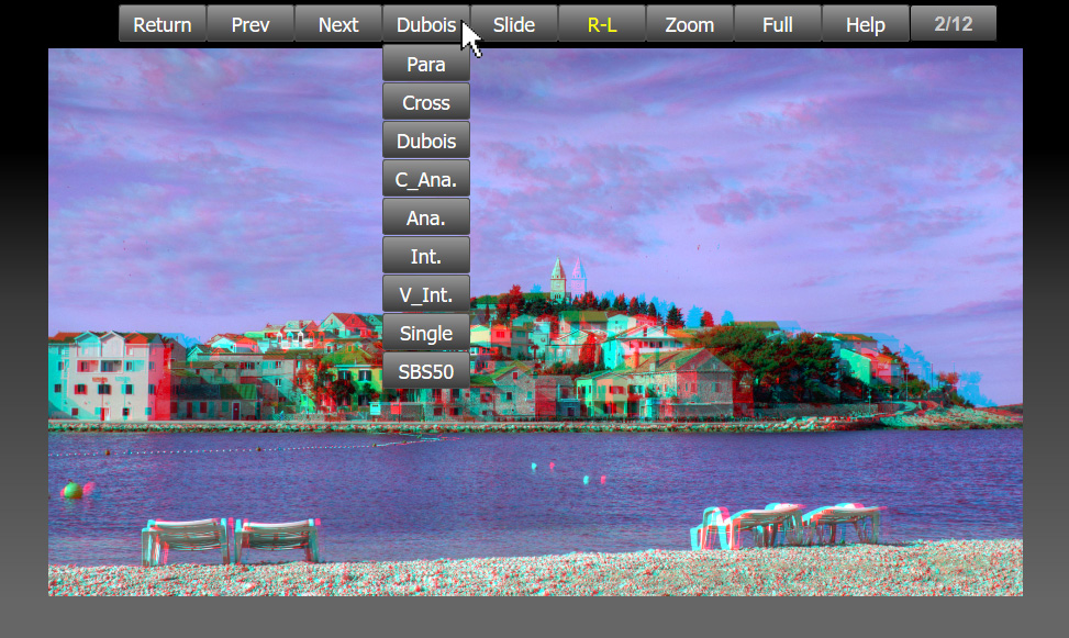 Stereo Foto Player